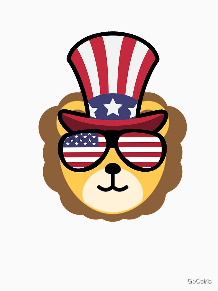 Lion Happy 4th Of July de GoOsiris