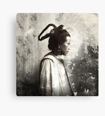 Joung woman in Shan Gan, China 1908 Canvas Print