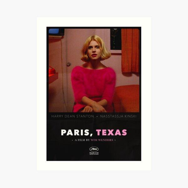 Paris, Texas - A Film by Wim Wenders Art Print
