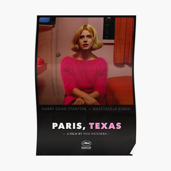 Paris, Texas - A Film by Wim Wenders Poster