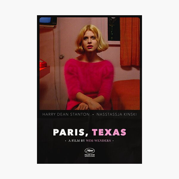 Paris, Texas - A Film by Wim Wenders Photographic Print