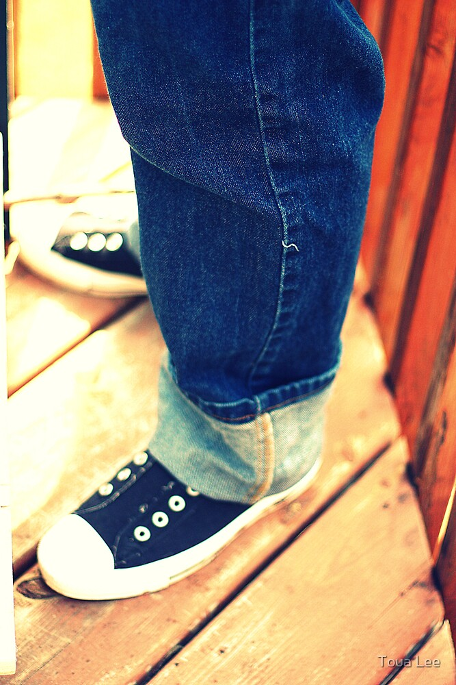 Chuck Taylors by Toua Lee
