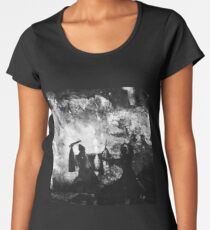 Fighting Shaolin monks in 1918 Women's Premium T-Shirt