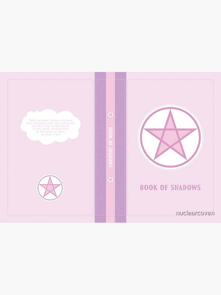 Kawaii Pastel Pink Book of Shadows by nuclearcoven
