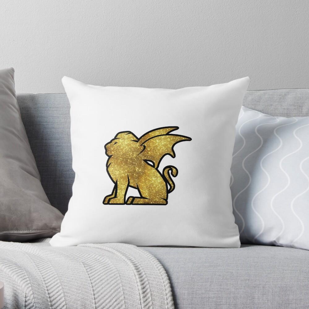 Glitter Talyrian Throw Pillow