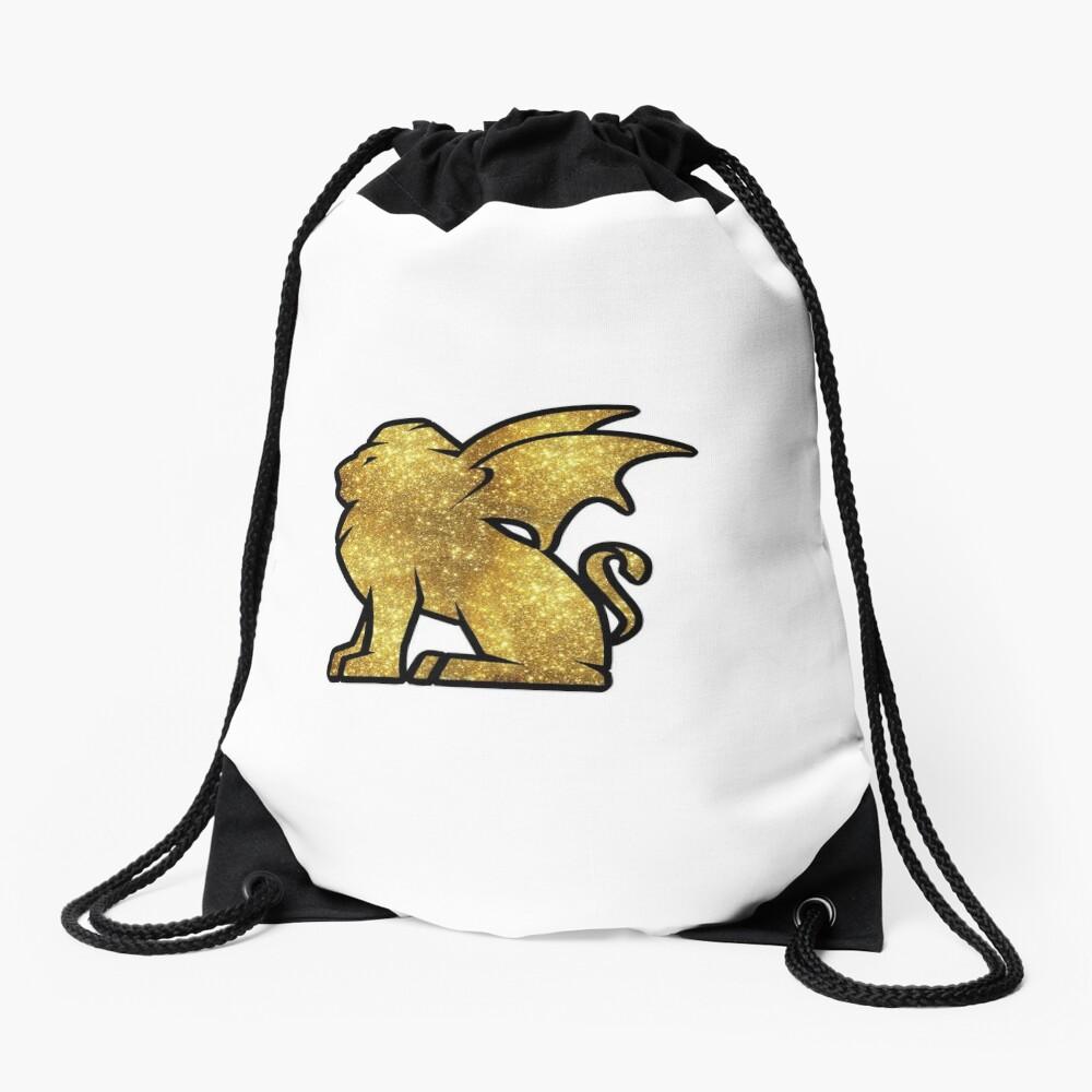 Glitter Talyrian Drawstring Bag