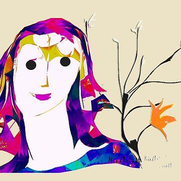 Garden Girl by mindprintz