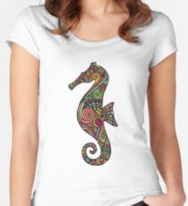 Sea Horse Women's Fitted Scoop T-Shirt