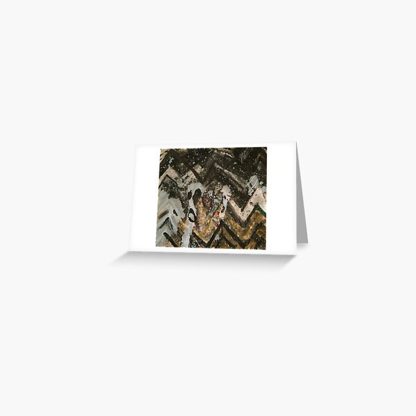 Easter Island Invasion Greeting Card