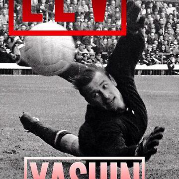 Lev yashin hero goalkeeper  by BigRedDot