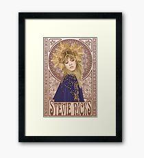 Lámina enmarcada Ilustración de Stevie Nicks