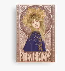 Stevie Nicks Illustration Canvas Print