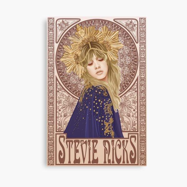 Stevie Nicks Illustration Canvas Print