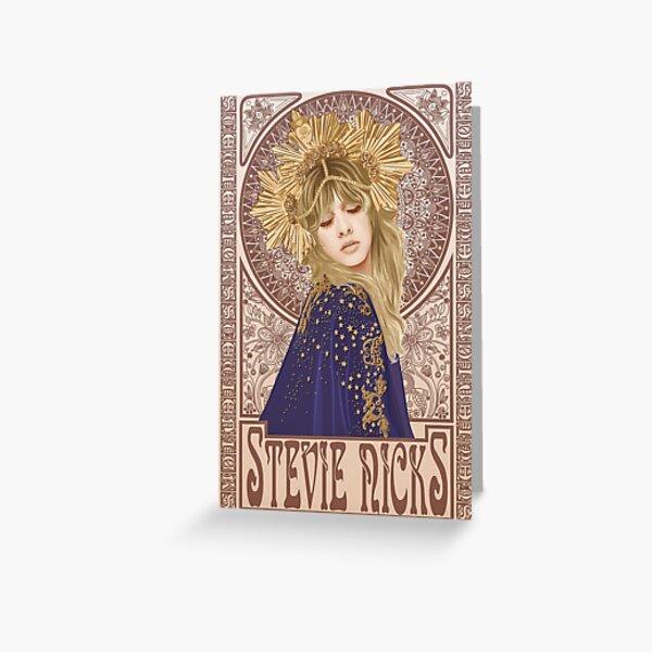 Ilustración de Stevie Nicks Tarjetas de felicitación