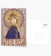 Stevie Nicks Illustration Postkarten