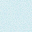 Palest Blue and White Polka Dot by itsjensworld