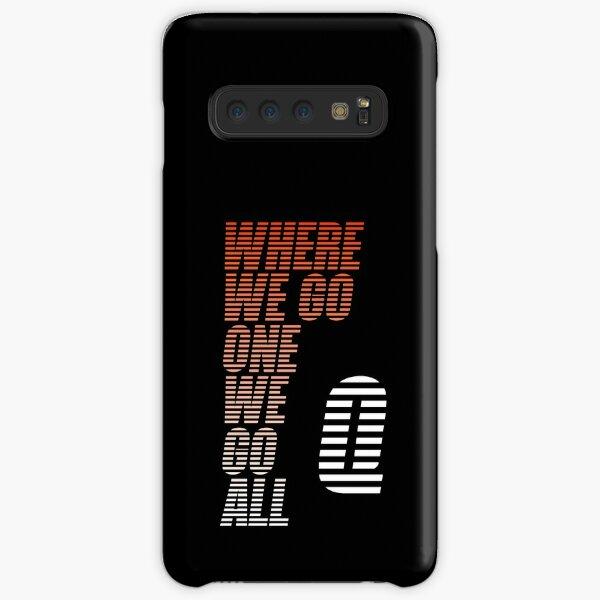 Wo wir hingehen gehen wir alle - Tigerstripes - QAnon Samsung Galaxy Leichte Hülle
