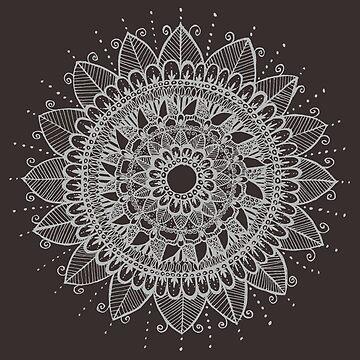 Grey Mandala by ClaraFae