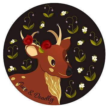 Cute & Deadly Fawn by Clochelle