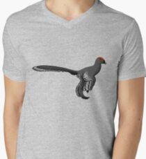 Stylised Anchiornis Men's V-Neck T-Shirt
