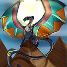 Scarab dragon by NikoDraws