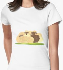 There's always a black sheep Women's Fitted T-Shirt