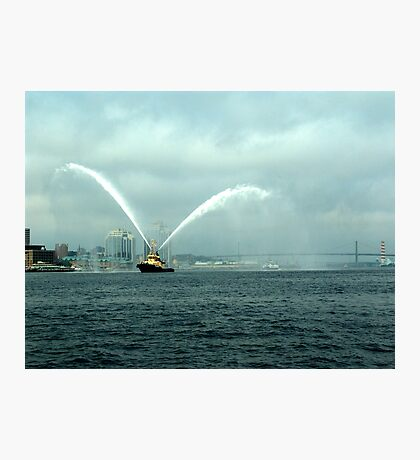 Fireboat-Halifax Photographic Print