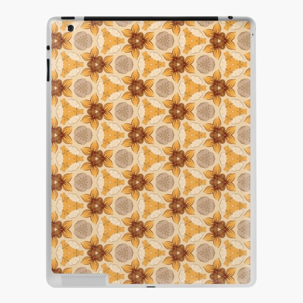 flower design flower vector seamless colorful repeat pattern iPad Skin