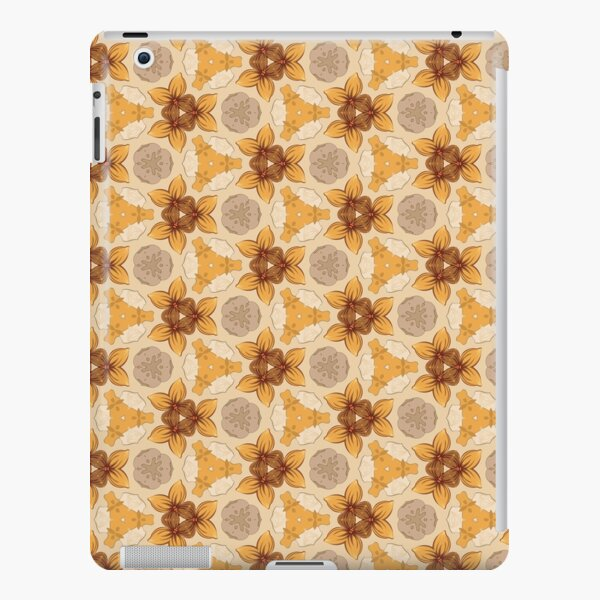 flower design flower vector seamless colorful repeat pattern iPad Snap Case