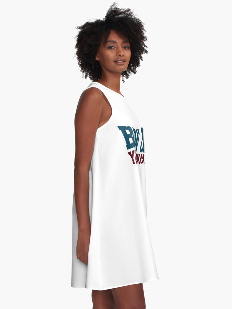 Alternative Ansicht von Blow up your Mind - Welle A-Linien Kleid