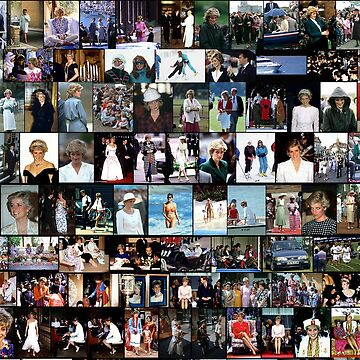 Stunning! HRH Princess Diana Photo Montage Collectors Edition No 3 by Picturestation