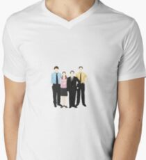 Main 4 Men's V-Neck T-Shirt