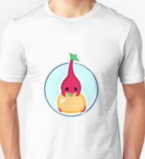 Red pikmin holding golden apple Unisex T-Shirt