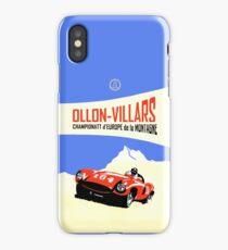 Ollon-Villars Hill Climb iPhone Case