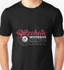Motorcycle Bikeoholic Unisex T-Shirt