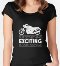 Motorcycle Bike Women's Fitted Scoop T-Shirt