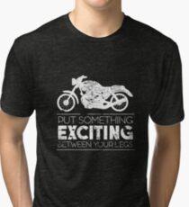 Motorcycle Bike Tri-blend T-Shirt