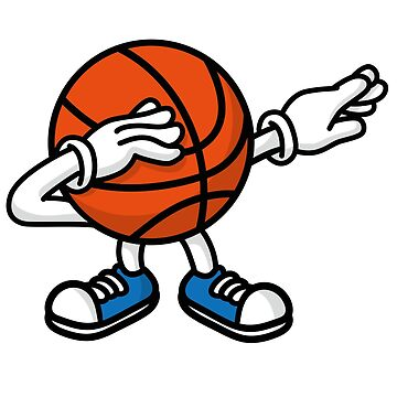 Dab dabbing basketball ball by LaundryFactory
