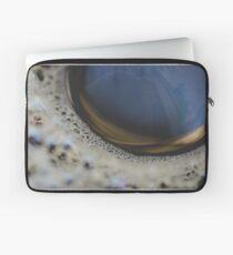 Cofee bubbles Laptop Sleeve