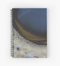 Cofee bubbles Spiral Notebook