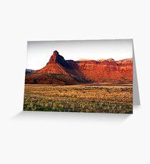 Arizona Butte Greeting Card