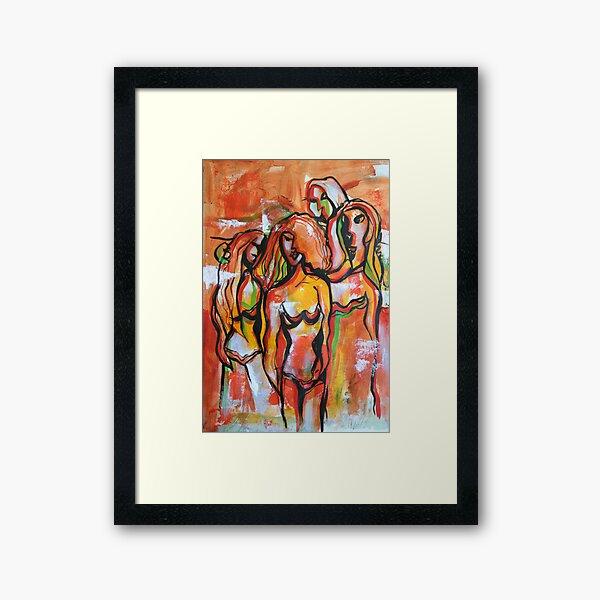 The Sisterhood Framed Art Print