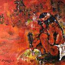 The Sand Painter by Reynaldo