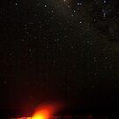 Star-Field over Halemaumau by Jimson Carr