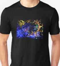 Fire and Ice Abstract T-Shirt