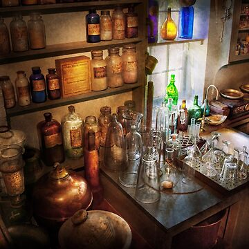 Pharmacist - A little bit of Witch Craft by mikesavad
