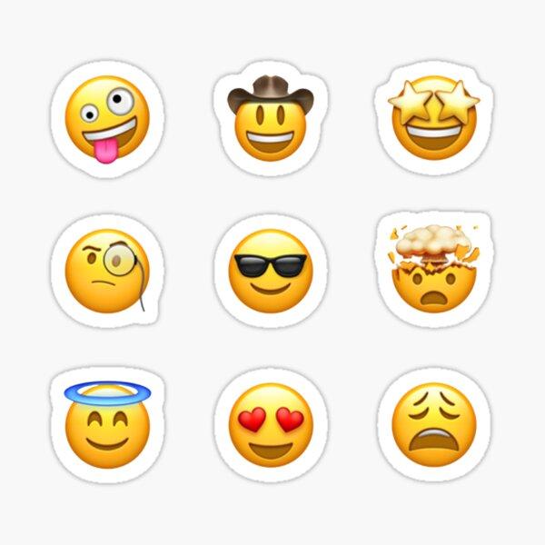 Random Emoji Sticker Pack (9) Sticker