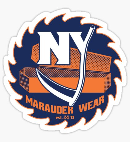 Deadly NY Hockey Sticker