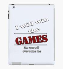 I will win the games  iPad Case/Skin