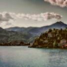 Mountains view at Lago d'Orta by Roberto Pagani